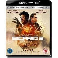 Sicario: Day of the Soldado [4K UHD+Blu-ray+DL]