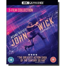John Wick: 3-film Collection [4K UHD+Blu-ray+DL]