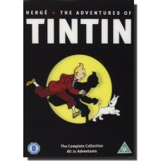 The Adventures of Tintin: The Complete Collection [5DVD]