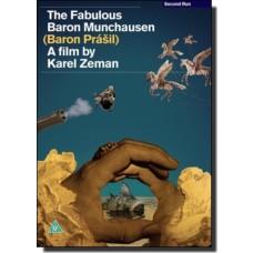The Fabulous Baron Munchausen | Baron Prásil [DVD]