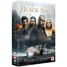 Black Sails: The Complete Collection (Seasons 1-4) [14DVD]