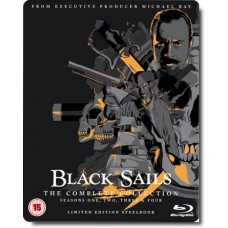 Black Sails: The Complete Collection (Seasons 1-4) [13Blu-Ray] [Limited Steelbook Edition]