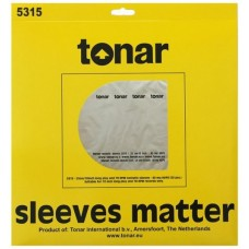 Tonar Nostatic sleeves for 10 inch Long Play records (40μm, pack of 50)