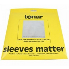 "Tonar 7"" 45 RPM outer sleeves (125μm, pack of 50)"
