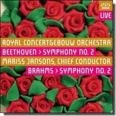 Beethoven / Brahms: Symphonies 2 [CD]