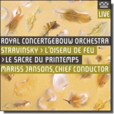 Stravinsky: Firebird Suite & Le Sacre du Printemps [CD]