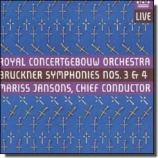 Bruckner: Symphonies 3 & 4 [2CD]