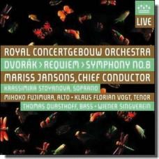 Dvorak: Requiem / Symphony 8 [2CD]