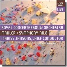 Mahler: Symphony 8 [CD+BR]