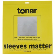 Tonar 12inch heavy duty outer sleeves for LP records (125μm, pack of 25)