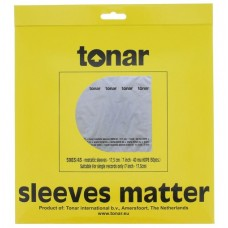 "Tonar 7"" 45 RPM inner sleeves (40?m, pack of 50)"