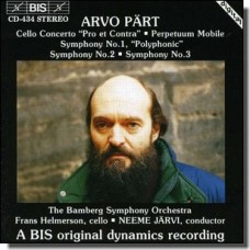 Pro et Contra; Perpetuum Mobile; Symphonies 1-3 etc. [CD]