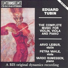 The Complete Music For Violin, Viola and Piano [2CD]