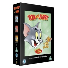 Tom and Jerry: Classic Collection - Volumes 1-6 [7DVD]