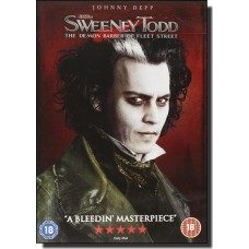 Sweeney Todd: The Demon Barber of Fleet Street [DVD]