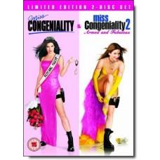 Miss Congeniality / Miss Congeniality 2 [2DVD]