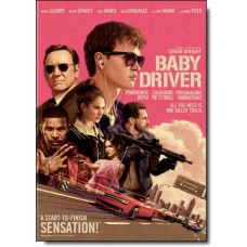 Põgenemise rütm | Baby Driver [DVD]
