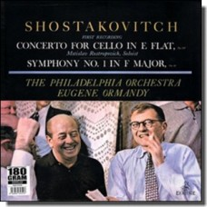 Concerto For Cello In E Flat Op. 107 | Symphony No. 1 In F Major Op. 10 [LP]
