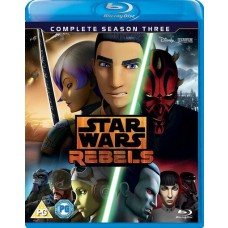 Star Wars Rebels: Complete Season 3 [3Blu-ray]