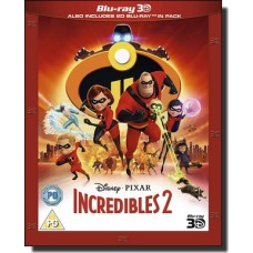 Incredibles 2 [2D+3D Blu-ray]