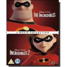 Incredibles 1 & 2 [2Blu-ray]