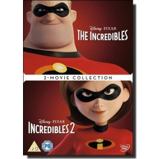 Incredibles 1 & 2 [2DVD]