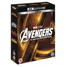 Avengers 3 Movie Collection [3x 4K UHD + 3x Blu-ray]