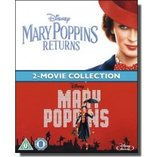 Mary Poppins + Mary Poppins Returns [2x Blu-ray]