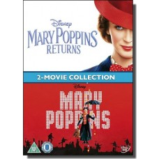 Mary Poppins + Mary Poppins Returns [2DVD]