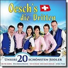 Unsere 20 schönsten Jodler [CD]