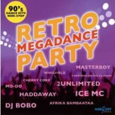 Retro Megadance Party - 90's Dance Hits Non-Stop [CD]