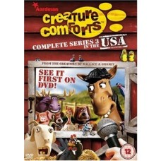 Creature Comforts: Complete Series 3: In the USA [DVD]