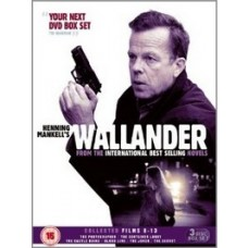 Wallander - Collected Films 8-13 [3DVD]