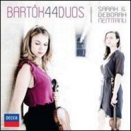 44 Duos for Two Violins [CD]