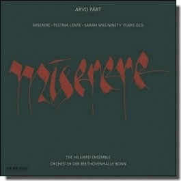 Miserere [CD]