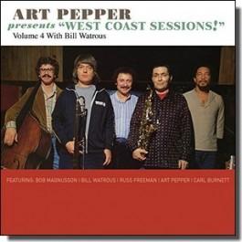 Art Pepper Presents: West Coast Sessions Vol. 4: Bill Watrous [CD]