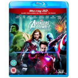 Avengers Assemble [2D+3D Blu-ray]