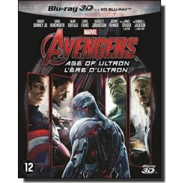The Avengers: Age of Ultron [2D+3D Blu-ray]