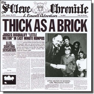 Thick As A Brick [CD]