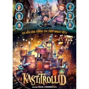 Kastitrollid / The Boxtrolls [DVD]