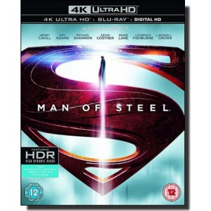 Man of Steel [4K UHD+Blu-ray+DL]