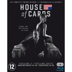 House of Cards: Season 2 [4Blu-ray]