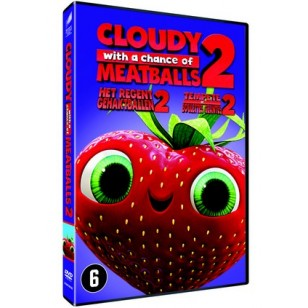 Cloudy with a Chance of Meatballs 2 [DVD]