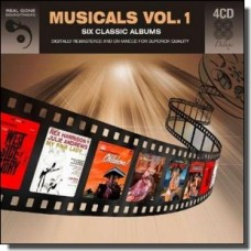 Musicals Vol. 1: Six Classic Soundtrack Albums [4CD]