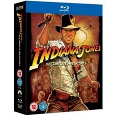 Indiana Jones: The Complete Adventures [5x Blu-ray]
