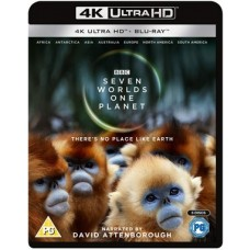 Seven Worlds, One Planet [4K UHD+Blu-ray]
