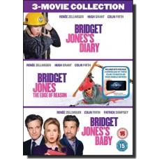 Bridget Jones 3-Movie Collection: Bridget Jones's Diary | Bridget Jones: The Edge Of Reason | Bridget Jones's Baby [3DVD]