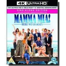 Mamma Mia! Here We Go Again [4K UHD+Blu-ray+DL]