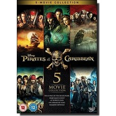 Pirates of the Caribbean: 5-movie Collection [5DVD]